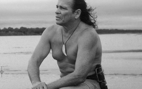 Kapax a orillas del rio Amazonas