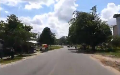 Recorriendo calles la ciudad de Iquitos