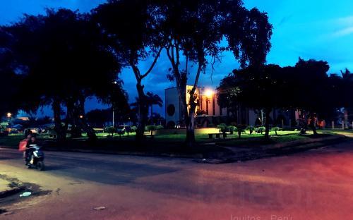 Esquina da rua Diocese do Alto Solimoes