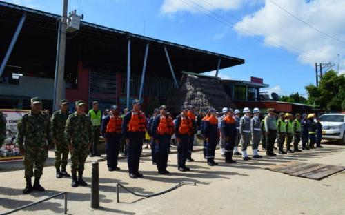 #EnImágenes Lanzamiento de campaña de seguridad en el Amazonas