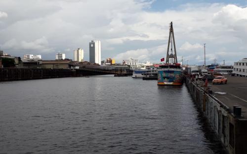O Porto de Manaus