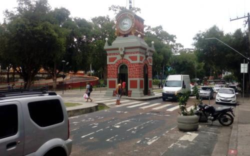 Park na cidade de Manaus