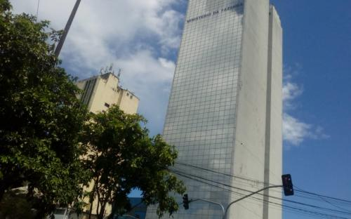 Edifícios no centro da cidade de Manaus