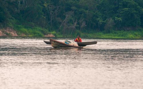 Fotos yavari rio Amazonas