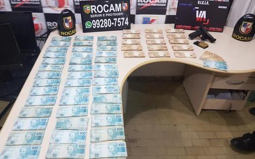 Colombiano arrestado en carro con antecedente de robo