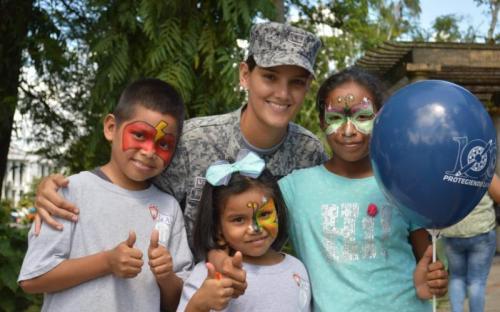 Jornada en contra del trabajo infantil es liderado por la FAC en el Amazonas