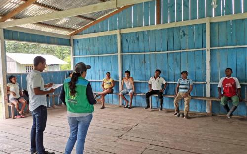 ICBF fortalece atención a la Primera Infancia de las comunidades étnicas del Amazonas
