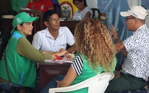 Regional Amazonas del ICBF realiza acciones de articulación con las autoridades del municipio de Puerto Nariño, en pro de fortalecimiento de oferta institucional en la vigencia.