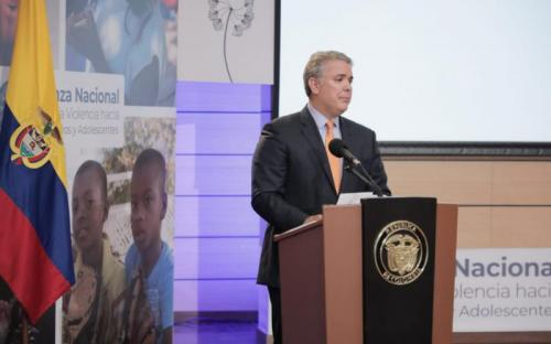 Gobierno lanza Alianza Nacional contra la Violencia hacia las Niñas, Niños y Adolescentes
