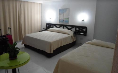 Habitaciones en hotel de San Andres