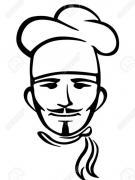 Imagen de un señor con sombrero de cocinero