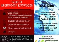 image for Taller de Importación y Exportación