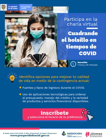 """image for Charla virtual """"Cuadrando el Bolsillo en Tiempos de COVID"""