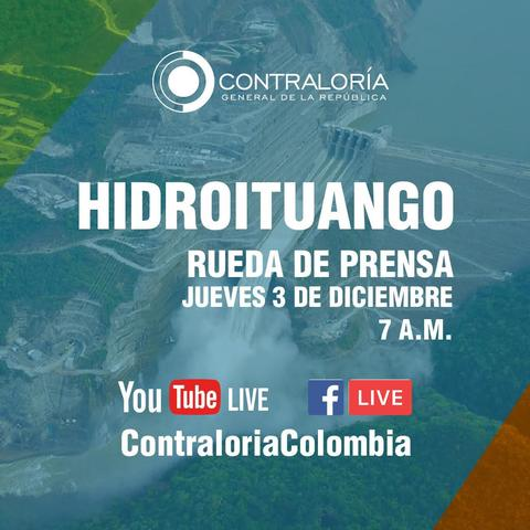 image for Rueda de Prensa Virtual sobre Consecuencias Fiscales del Caso Hidroituango