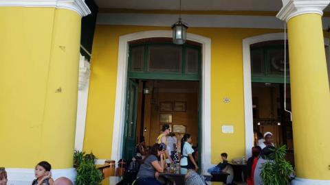 Restaurante en Cuba