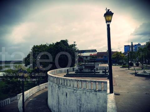 Mirador en Plaza Ramon Castilla