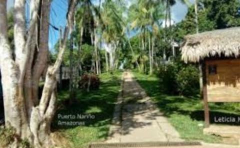 Caminado por Puerto Nariño