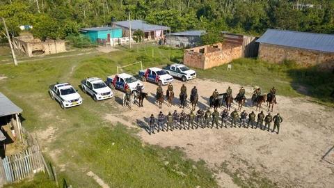 LA POLICÍA DE COLOMBIA Y POLICÍA MILITAR DE TABATINGA SE UNEN PARA CONTRIBUIR A LA ESTRATEGIA DE SEGURIDAD Y CONVIVENCIA EN LA FRONTERA