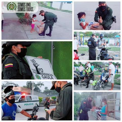 EL DEPARTAMENTO DE POLICÍA AMAZONAS, REALIZÓ COMANDO SITUACIONAL EN EL BARRIO ÑIANEMECHI