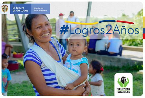 Durante la emergencia , desde ICBF hemos entregado en el #Amazonas 21.012 canastas alimentarias a niños y niñas, madres gestantes y lactantes. Además, a la fecha, hemos realizado 35.175 llamadas de acompañamiento a nuestros beneficiarios y sus f