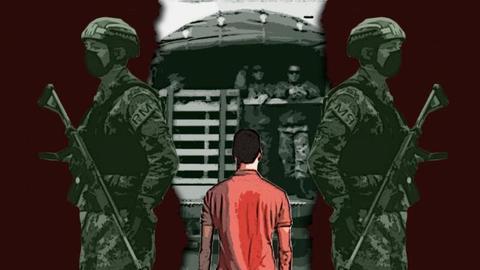Joven denuncia reclutamiento irregular por parte del Ejército Nacional