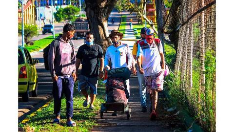 Éxodo de venezolanos se acerca a Bucaramanga