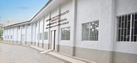 Gran Colombia Gold entrega sede al SENA, para promover la minería responsable en el Nordeste antioqueño