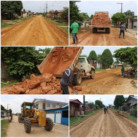 Prefeitura de Tabatinga realizou terraplanagem