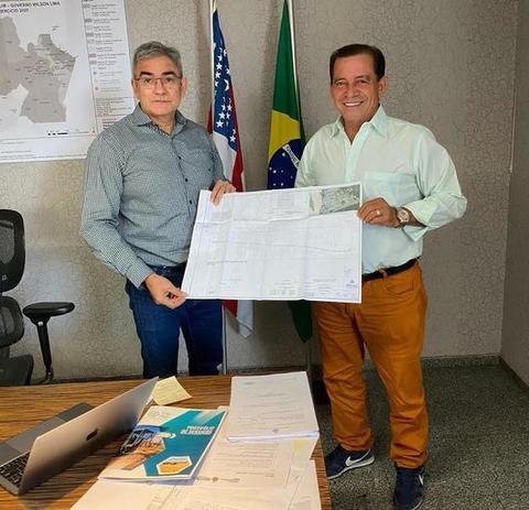 Prefeito de Tabatinga cumprindo sua agenda em Manaus
