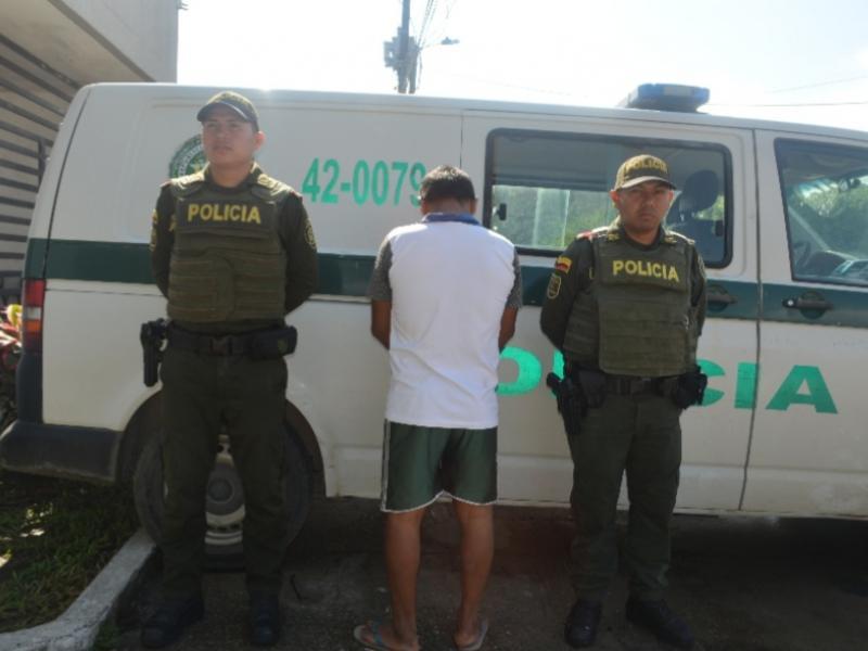 image for CAPTURADO EN LETICIA AMAZONAS DELINCUENTE REQUERIDO POR CIRCULAR ROJA DE INTERPOL
