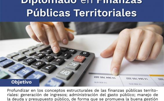 INSCRÍBETE - Diplomado en finanzas públicas territoriales