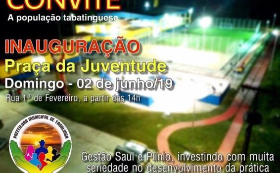 image for Inauguração da Praça da Juventude Francilane Maria da Silva