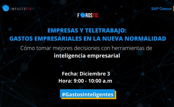 image for Foro virtual - Empresas y Teletrabajo: gastos empresariales en la nueva normalidad