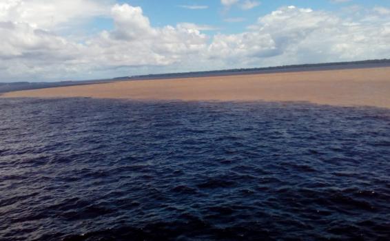 image for Chegando no porto de Manaus