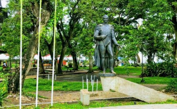 Estatua Parque Santander