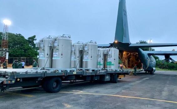 image for Governo do Estado recebe oxigênio para hospitais de Manaus