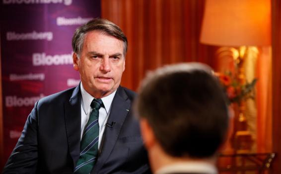 Entrevista o presidente Jair Bolsonaro