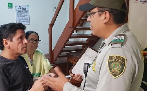 image for Operativos de control de la policía a los establecimientos turisticos en temporada de Confraternidad Amazonica