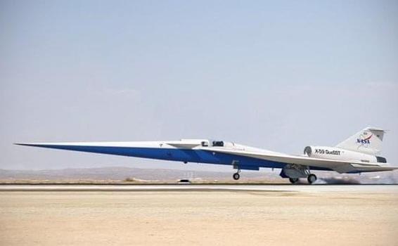 image for Nuevo avión supersónico silencioso