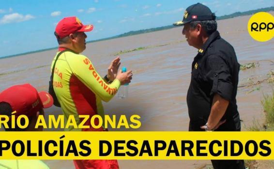 image for Buscan a 4 policías desaparecidos en el río Amazonas