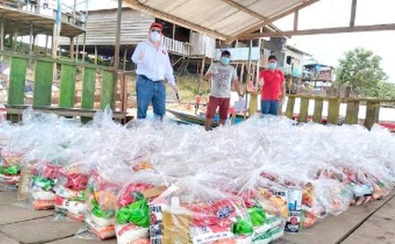 image for Comunidades vecinas a la Refinería Selva reciben víveres