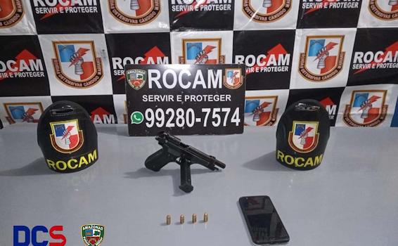 image for Detém homem por porte ilegal de arma de fogo