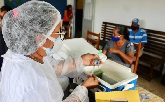 image for Nesta quarta-feira iniciou campanha de vacinação contra a Covid-19