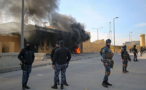 image for Proyectiles impactan en Bagdad