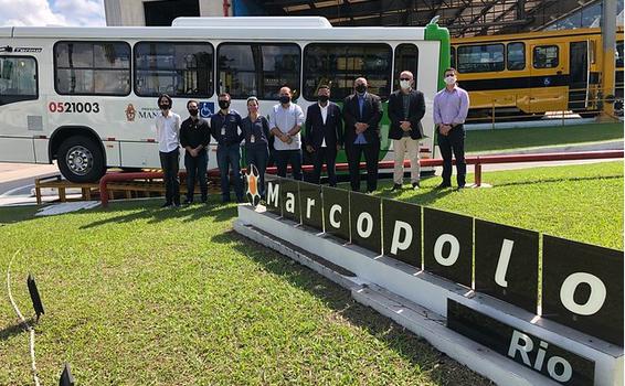 image for Nova frota de veículos que atenderá o transporte coletivo