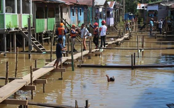 image for Cuidados que os moradores devem ter em relação a  a elevação da água