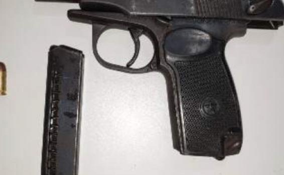 image for Intercepta dos sujetos con arma de fuego