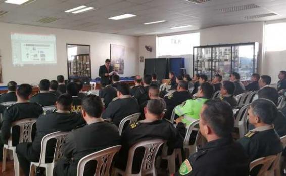 image for Policías de Lima fueron capacitados en Nuevo Código Procesal Penal