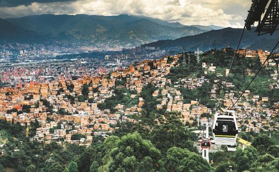 image for Reducción del crimen en la capital colombiana