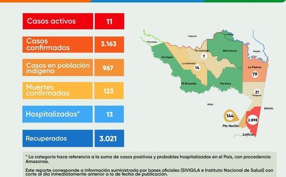 image for Reporte situacioal de la zona / Covid-19